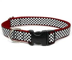 pattern snap dog collar